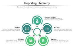 Reporting Hierarchy Ppt Powerpoint Presentation Gallery Guide Cpb