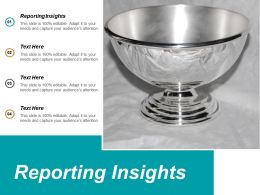 Reporting Insights Ppt Powerpoint Presentation Infographics Introduction Cpb