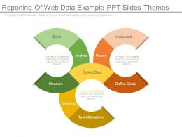 Reporting Of Web Data Example Ppt Slides Themes