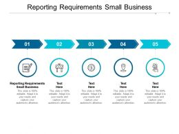 Reporting Requirements Small Business Ppt Powerpoint Presentation Styles Introduction Cpb
