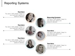 Reporting Systems Ppt Powerpoint Presentation Inspiration Good Cpb