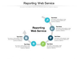 Reporting Web Service Ppt Powerpoint Presentation Infographics Picture Cpb