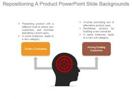 Repositioning A Product Powerpoint Slide Backgrounds