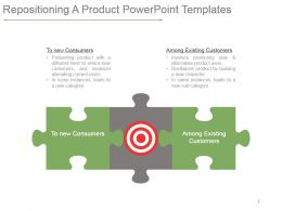 Repositioning A Product Powerpoint Templates