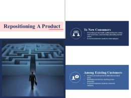 Repositioning A Product Ppt Professional Visual Aids