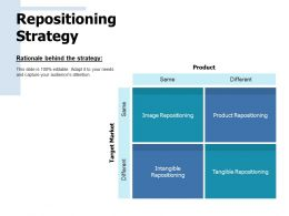 Repositioning Strategy Different Ppt Pictures Graphics Download