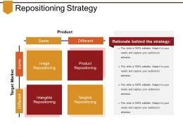 Repositioning Strategy Powerpoint Slide Templates Download