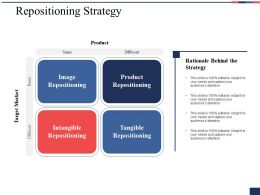 Repositioning Strategy Ppt Professional Infographic Template
