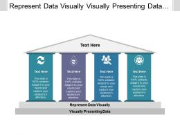 Represent Data Visually Visually Presenting Data Team Meeting Template Cpb