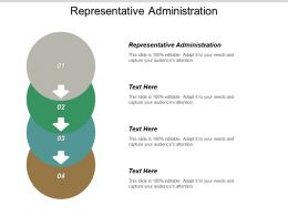 Representative Administration Ppt Powerpoint Presentation Ideas Graphics Template Cpb