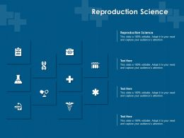 Reproduction Science Ppt Powerpoint Presentation Ideas Samples