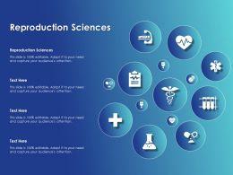 Reproduction Sciences Ppt Powerpoint Presentation Outline Shapes