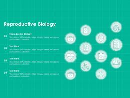 Reproductive Biology Ppt Powerpoint Presentation Layouts Model
