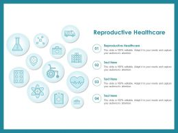 Reproductive Healthcare Ppt Powerpoint Presentation Layouts