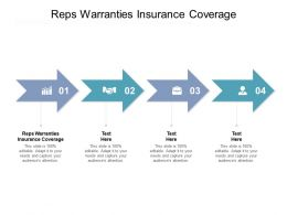 Reps Warranties Insurance Coverage Ppt Powerpoint Presentation Show Example Cpb