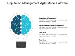 Reputation Management Agile Model Software Development Marketing Operations Cpb