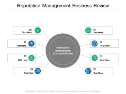Reputation Management Business Review Ppt Powerpoint Presentation Styles Influencers Cpb
