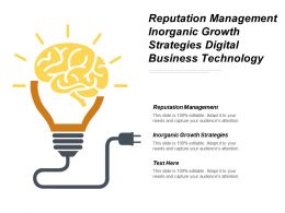 Reputation Management Inorganic Growth Strategies Digital Business Technology Cpb