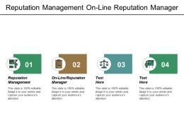 Reputation Management On Line Reputation Manager Value Proposition Cpb