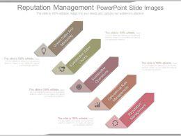 Reputation Management Powerpoint Slide Images