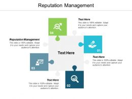 Reputation Management Ppt Powerpoint Presentation Infographics Designs Cpb