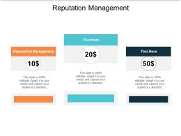 Reputation Management Ppt Powerpoint Presentation Pictures Sample Cpb