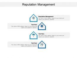Reputation Management Ppt Powerpoint Presentation Slides Design Ideas Cpb