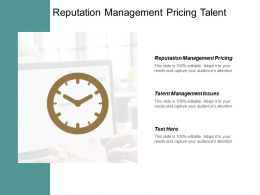 Reputation Management Pricing Talent Management Issues Reputation Management Cpb
