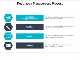 Reputation Management Process Ppt Powerpoint Presentation Outline Guidelines Cpb