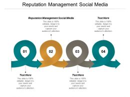 Reputation Management Social Media Ppt Powerpoint Presentation Layouts Slideshow Cpb