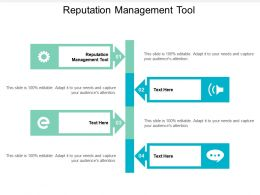 Reputation Management Tool Ppt Powerpoint Presentation Summary Model Cpb