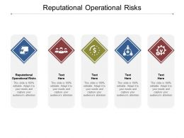 Reputational Operational Risks Ppt Powerpoint Presentation Slide Download Cpb