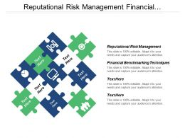 Reputational Risk Management Financial Benchmarking Techniques Cpb