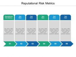 Reputational Risk Metrics Ppt Powerpoint Presentation Pictures Gallery Cpb