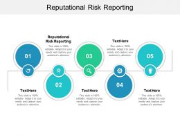 Reputational Risk Reporting Ppt Powerpoint Presentation Gallery Diagrams Cpb