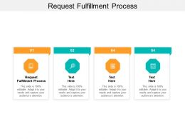 Request Fulfillment Process Ppt Powerpoint Presentation Example File Cpb