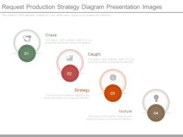 Request Production Strategy Diagram Presentation Images