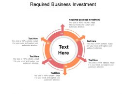 Required Business Investment Ppt Powerpoint Presentation Slides Layout Cpb