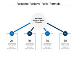 Required Reserve Ratio Formula Ppt Powerpoint Presentation Slides Example Cpb