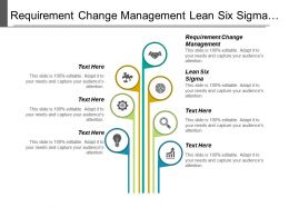 Requirement Change Management Lean Six Sigma Organizational Breakdown Structure Cpb
