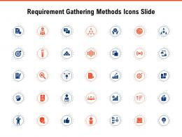 Requirement Gathering Methods Icons Slide Ppt Powerpoint Ideas