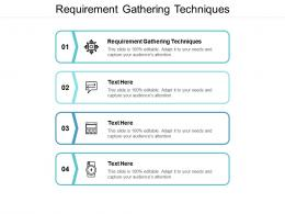 Requirement Gathering Techniques Ppt Powerpoint Presentation Infographic Template Mockup Cpb