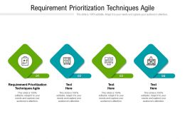 Requirement Prioritization Techniques Agile Ppt Powerpoint Presentation Gallery Background Cpb