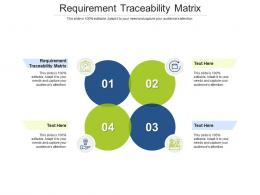 Requirement Traceability Matrix Ppt Powerpoint Presentation Pictures Background Image Cpb
