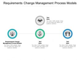 Requirements Change Management Process Models Ppt Powerpoint Presentation Show Smartart Cpb