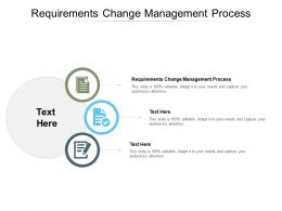 Requirements Change Management Process Ppt Powerpoint Clipart Cpb