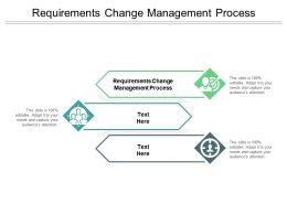 Requirements Change Management Process Ppt Powerpoint Presentation Model Background Designs Cpb