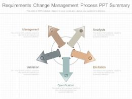 Requirements Change Management Process Ppt Summary