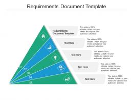 Requirements Document Template Ppt Powerpoint Presentation Outline Example Cpb