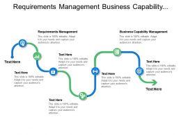 Requirements Management Business Capability Management Demand Expectation Resources